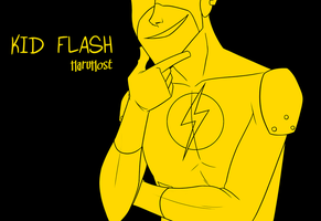 Kid Flash by AnArtistCalledRed