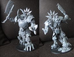 Lord of Skulls walker conversion by AssberryFaggot