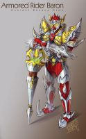 Knight of Spear by arashi-yanagawa