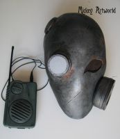 post apocalypse mask by steammickey