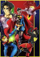 The reign of the supermen by SketchSchmidt-Art