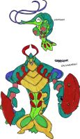 Fakemon- Mantis Shrimps by TheZombieHunter