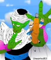 Piccolo and Kuririn by Unwanted83