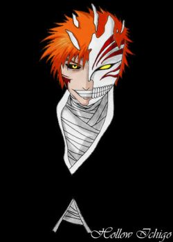 Hollow Ichigo by MikadosGirl