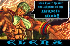 Elena Muscle Mod + Gallery + Video by Ripped-Pixels