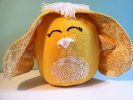 Yellow Poof Pal by snowtigra