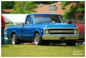 Nice Blue Chevy Truck by TheMan268