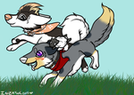 Hold on tight by Raven--Feather