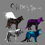 Cinder Sprite Auction by Allixi