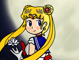 Sailor Moon, finally returns... by Isaangie
