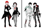 RWBY: Side Characters by reveriesky
