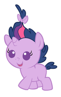 Baby Twilight Sparkle by MarianHawke