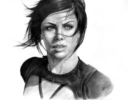 Aeon Flux by c-razycheese