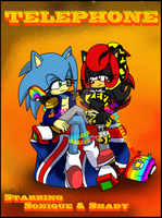 Sonique and Shady - Telephone :Coloured: by shadyever