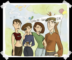 TBL 054 - Family by sapphicspencil