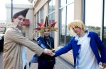 Yu-Gi-Oh!: The Power of Friends by sunlitebreeze