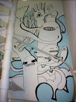 Mural - Upstairs by surfender