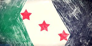 Syria Flag by mohoalzoubi
