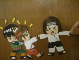 Team Gai Paperchild by Freyly