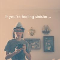 if you're feeling sinister by RobbyP