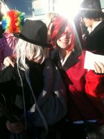 Anime Banzai 2012 Grell and Undertaker by Fainting-Ostrich