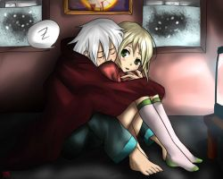Winter Nights (Maka x Soul) by SauceBox16
