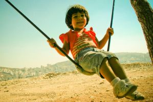 Smiling Swing by Muhanned