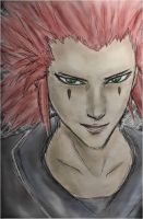 Kingdom Hearts - Axel by Wat3rki