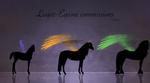 Lisqar-Equine commissions *closed* by Minthiy