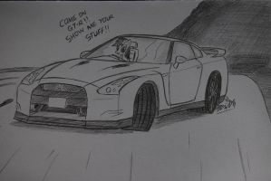 TGE: Rainbow Dash and the GT-R by Ricky47