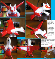 Hand Made Latias Model by Vypor