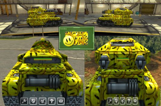 Tanki Online - Smiley Face Paint by DoctorWhoOne