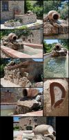 Stone Fountain by Adhras
