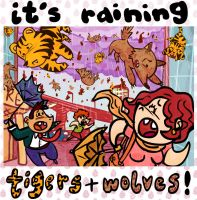 Tigers and Wolves by tarunbanned