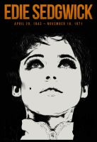 Edie Sedgwick by madmonsters