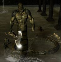 Legend Series: The Snake Man by blackzig