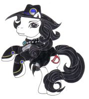 Vampire Hunter D MLP by Doomwing