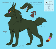 Vireo Reference by blackmustang13