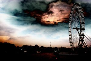 London Eye by Sambvo63