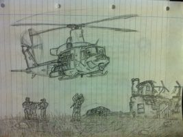 UH-1Y extraction by ntsaig