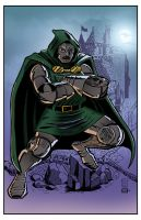 Dr. Doom by AndrewJHarmon