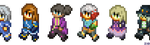 [TalesxFFTA]: Walking Sprites by ZioCorvid