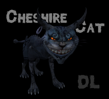 MMD Cheshire Cat [DL] by roze11san