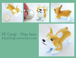 FE Corgi 03 - Play Bow - SOLD by Bittythings