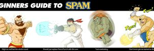 Street Fighter IV SPAM by goatchumby