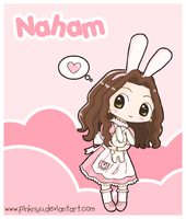 Naham :: Art Trade by PinkNyu