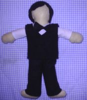 Brendon Plushie WIP2 by Bang-The-Doldrums