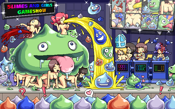 slimes and girls gameshow by probertson
