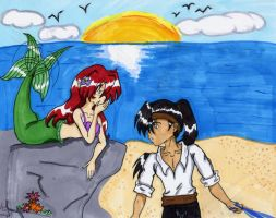KouxAya: The Little Mermaid by Marie1701