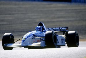 Mika Salo (Pacific 1995) by F1-history